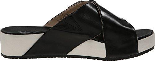 Dr. Collezione Donna Originale Volo Scholls Sandalo Nero In Pelle 8 M