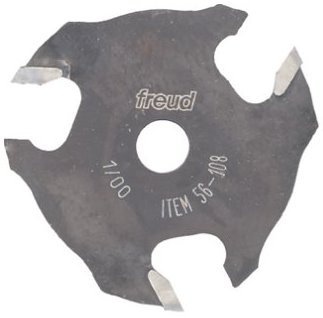Freud 56-108 Carbide Tipped Three Wing Slotting Cutter Router Bit