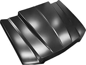 (Key Parts 0856-038 Steel Cowl Induction Hood)
