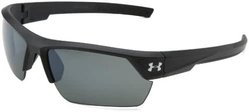 Under Armour Igniter 2.0 Satin Black Frame, with Black Rubber and Gray Polarized Lens
