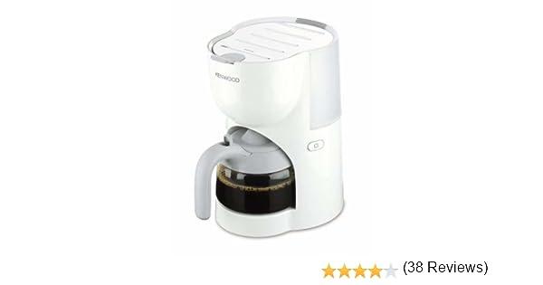 Kenwood CM200 - Cafetera de goteo, 650 W, 0.5 L, plástico, blanco ...