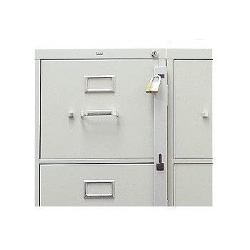 Nice Locking Bar For Use With 1 Drawer Filing Cabinet (cabinet Not Included)