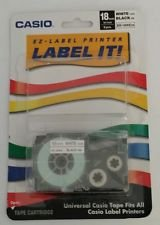 Labeler TAPE,12MM, Black/white