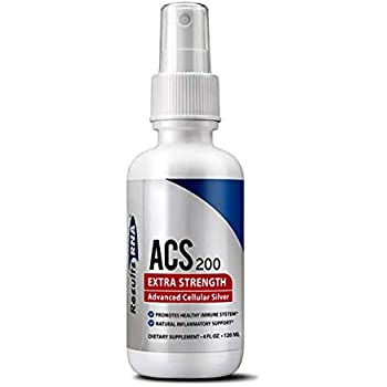 Results RNA ACS 200 Extra Strength Colloidal Silver | 4 Ounce Spray Bottle - Advanced Cellular Silver For Highly Effective Immune System Support