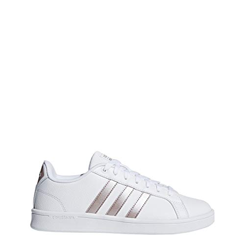 Adidas Performance Women's Cloudfoam Advantage Cl Sneaker, Bronze/White Deal (Large Image)