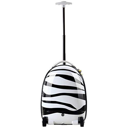 Rastar Kids Rolling Luggage Zebra-Remote Control Suitcase - BIG SALE-Last Ones!