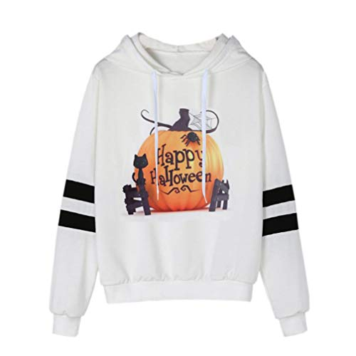 FANOUD Womens Printed Sweatshirt Long Sleeve Casual Hooded