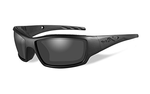 Wiley X CCTID01 Wx Tide Accessory, Black (Max Polarized Black Lens Grey)
