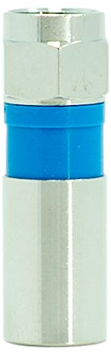 Legrand - On-Q AC300810 Compression F Plug Rg6/U Quad Shield Coax Cable, 10 Pack