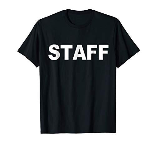 Staff T-Shirt For Bar / Restaurant or Concert Event Festival