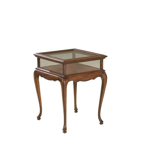 (251 First Evelyn Plantation Cherry Curio Table)