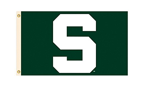 BSI Michigan State Spartans Team Logo 3 Ft. X 5 Ft. Flag With Grommets 95529