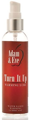 Siam Circus Adam & Eve Turn It Up Warming Lube Water Based Personal Sex Lubricant (Adam And Eve Adult)
