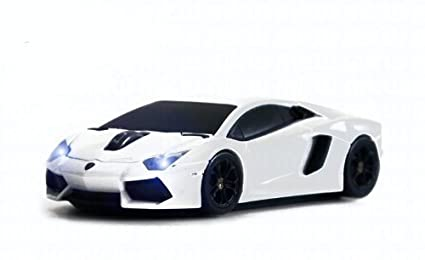 Amazon In Buy Lamborghini Aventador Wireless Mouse White Online