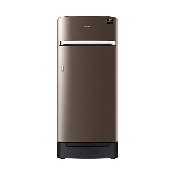 Samsung 198 L 3 Star Direct-Cool Single Door Refrigerator (RR21T2H2YDX/HL, Luxe Brown) 2021 July Direct-cool refrigerator : Economical and Cooling without fluctuation Capacity 198 liters: Suitable for families with 2 to 3 members and bachelors Energy rating 3 Star : high efficiency model