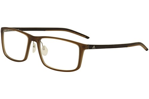 Adidas Litefit 2.0 Eyeglasses AF4610 692/10 6102 Matte Brown Optical Frame - Adidas Rx Glasses