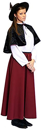 [World Book Day-Character-The Railway Children EDWARDIAN BOBBY (BURGUNDY) Child's Fancy Dress Costume - All Ages (AGE] (Childrens Fancy Dress Costumes Uk)