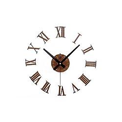 zhENfu Modern Metal Gear Fashion Creative DIY Mute Wall Clock Wall Clock