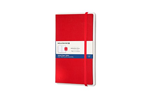 Moleskine Paper Tablet Pen+ Large Dot Red Hardcover (8055002855167)