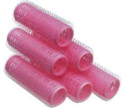 Hairart Mini Pink Self Gripping Rollers #13307