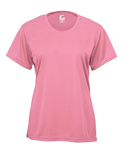 - Pink Ladies XL Short Sleeve Performance Wicking Athletic Sports Shirt/Undershirt/Jersey