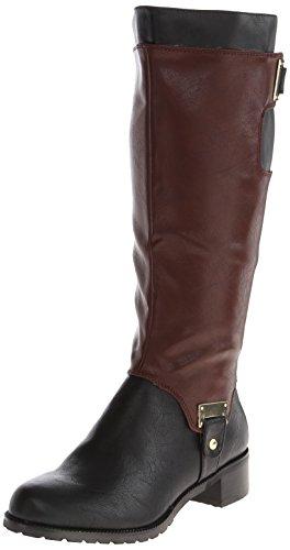Bella Vita Kvinners Anya Ii Riding Boot Sort / Mahogni