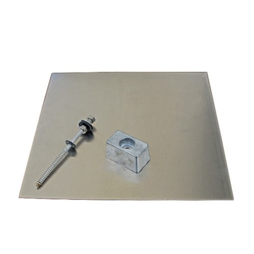 Renogy 12''x12'' Quickmount Classic Composition Mount Flashing
