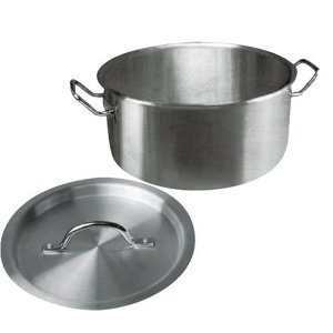 Winware Stainless Steel 15 Quart Brasier with Cover by Winware