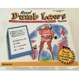 Real Dumb Laws Game by Pressman Toy