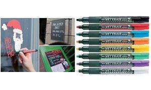 (Pentel Wet Erase Chalk Marker White Medium (SMW26-W))