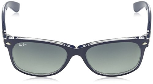 Wayfarer Blue Ray Soleil RB2132 Bleu Transparent Lunettes New Transparent 52 Wayfarer de Ban mm 7UUFawqY