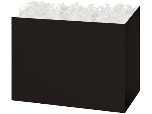 "CLEARANCE - Large 10 1/4""x6""x7.5"" Black Basket Boxes for Bak"