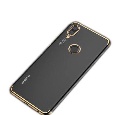 Estuche Huawei P20 Lite, Protección Para Estuche Ultra Fino y Tpu, Protección De Estuche y Alta Definición Negro Dorado