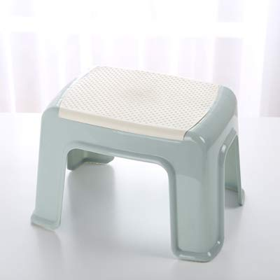 Awesome Ijia Plastic Stool Anti Skid Step Stool For Kids Thick Plastic Stool For Adults Creative Fashion Bathroom Stool For Living Room Bathroom Non Slip Pabps2019 Chair Design Images Pabps2019Com