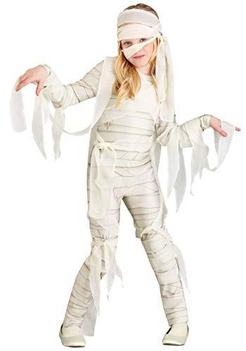 Cheap Mummy Costume (Under Wraps Mummy Costume Girl's -)