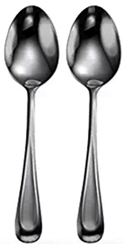 Oneida Satin Sand Dune 2 Serving Spoons by Oneida