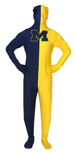 University of Michigan Men's Skin Suit STD (Paper Magic Group Costumes)