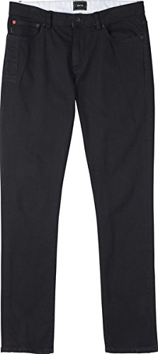 BURTON Men's B77 Skinny Denim Pant, True Black, 34 - Skinny Snowboard Pants Men