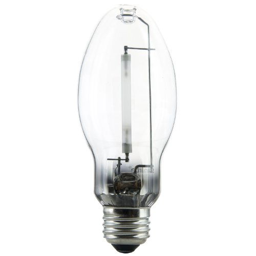 Sunlite 03610-SU LU70/MED 70 Watt HPS ED17 High Pressure Sodium Light Bulb, Medium Base, Clear (High Pressure Sodium Vapor Lamps)