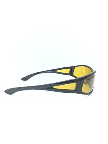 52e8ec00ca4 Night Driving Yellow Lens Polarized Sport Sunglasses for men or ...