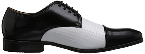 Stacy Adams Men's Forte Cap Toe Oxford Black/White fake for sale footlocker finishline sale online wTRrHWCU