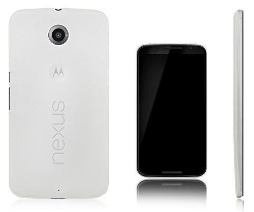 Xcessor Vapour Flexible TPU Gel Case for Motorola Google Nexus 6. Semitransparent (Google Nexus 6 Us Cellular)