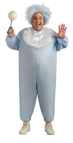 Mens  (Adult Baby Blue Infant Costumes)