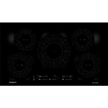 Frigidaire FGIC3666TB Gallery Series 36 Inch Electric Induction Smoothtop Style Cooktop with 5 Elements, in Black
