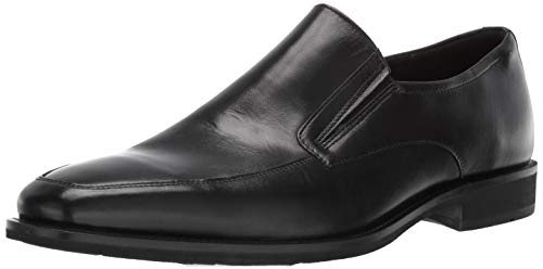 ECCO Men's Calcan Apron Toe Slip On Oxford, Black, 46 M EU (12-12.5 ()