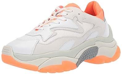ASH Womens 490010 As-Addict Orange Size: 7
