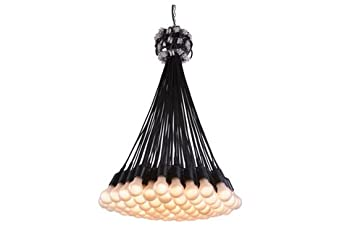 Droog chandelier 85 lamps design by rodi graumans amazon droog chandelier 85 lamps design by rodi graumans aloadofball Choice Image