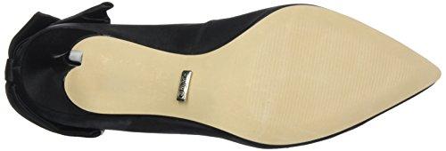 Buffalo London ZS 7794-16 Tecido Cetim, Scarpe con Tacco Donna Nero (Black 01)