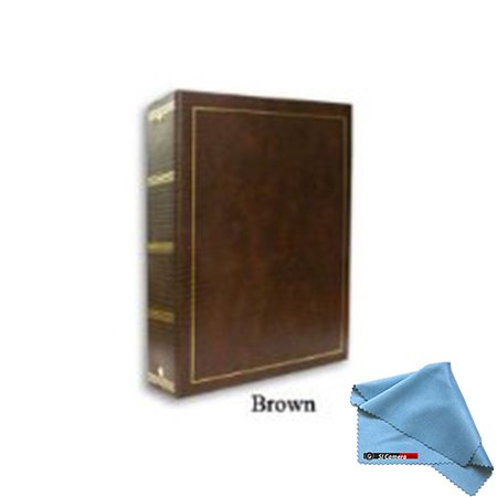 Pioneer LM-100 100 Page Magnetic 3-Ring Photo Album (12-Pack) Brown by Pioneer Photo Albums