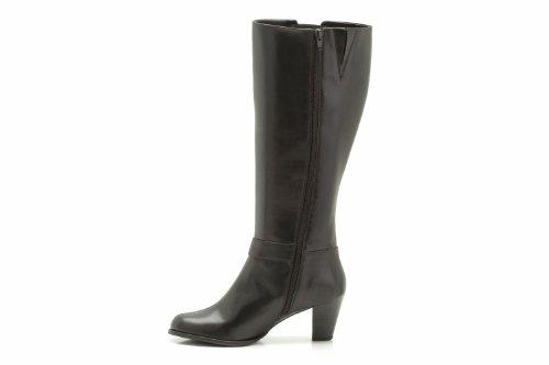 Clarks - Botas para mujer, color negro, talla 41
